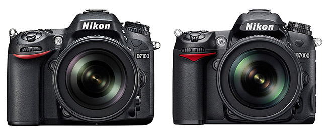 Nikon-D7100-compared-to-D7000